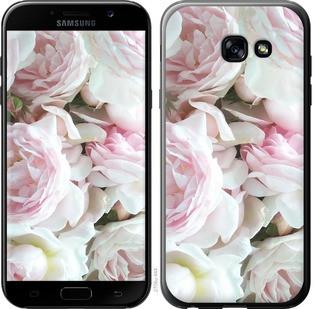 """Чехол на Samsung Galaxy A5 (2017) Пионы v2 """"2706c-444-15886"""""""