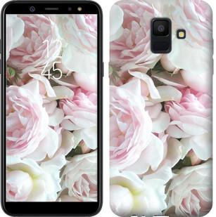 """Чехол на Samsung Galaxy A6 2018 Пионы v2 """"2706u-1480-15886"""""""