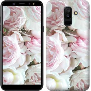 """Чехол на Samsung Galaxy A6 Plus 2018 Пионы v2 """"2706c-1495-15886"""""""