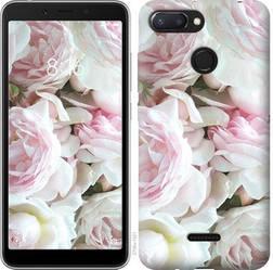 """Чехол на Xiaomi Redmi 6 Пионы v2 """"2706u-1521-15886"""""""