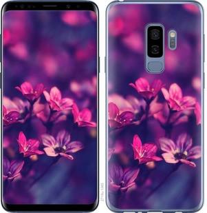 "Чехол на Samsung Galaxy S9 Plus Пурпурные цветы ""2719c-1365-15886"""