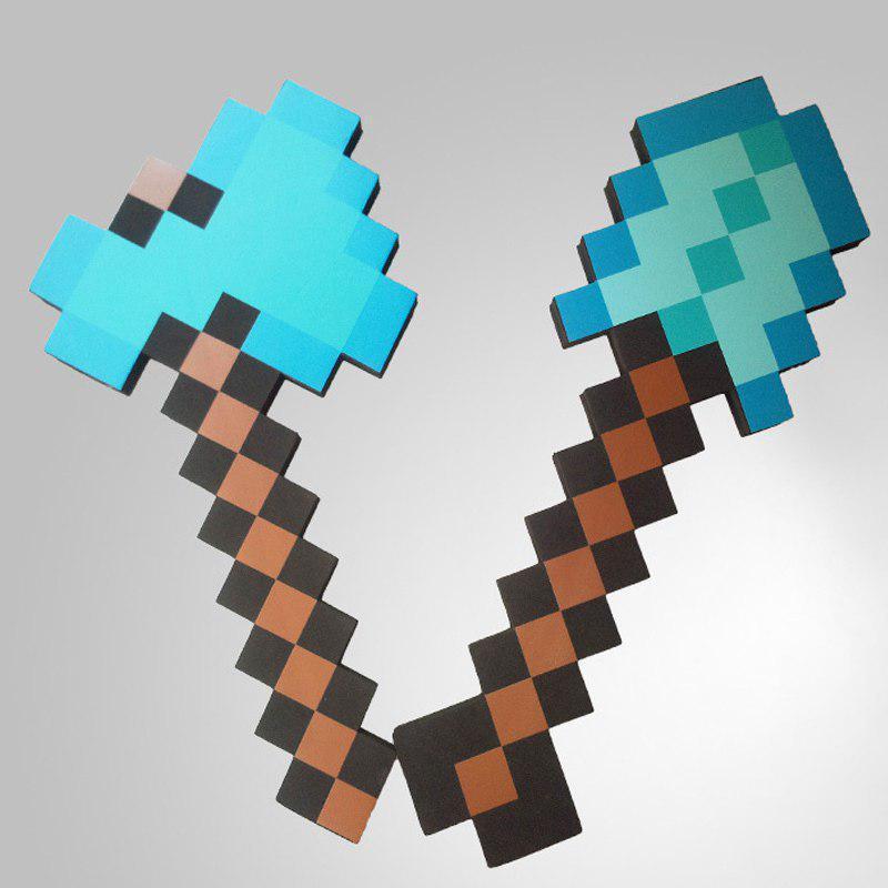 Игрушки Майнкрафт Топор и Лопата комплект игрушек