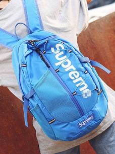 Рюкзак копия Supreme синий