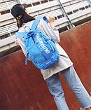 Рюкзак копия Supreme синий, фото 3