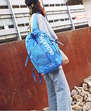 Рюкзак копия Supreme синий, фото 4