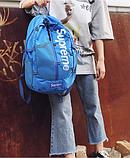 Рюкзак копия Supreme синий, фото 5