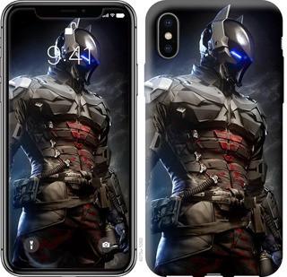 """Чехол на iPhone X Рыцарь Аркхема """"4075c-1050-15886"""""""
