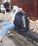 Рюкзак копія Supreme жовтий, фото 3