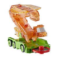 Screechers Wild Fangster Дикие Скричеры. Машинка-трансформер – Змея Фангстер оранжевая, Л2, фото 1