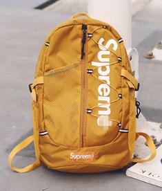 Рюкзак копія Supreme жовтий