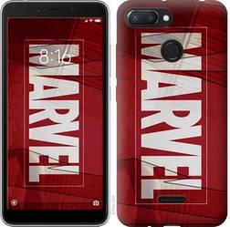 "Чехол на Xiaomi Redmi 6 Marvel ""2752u-1521-15886"""