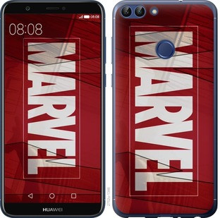 "Чехол на Huawei P Smart Marvel ""2752c-1346-15886"""