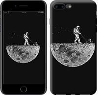 """Чехол на iPhone 8 Plus Moon in dark """"4176c-1032-15886"""""""