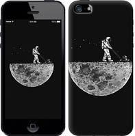 "Чехол на iPhone SE Moon in dark ""4176c-214-15886"""