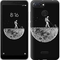 "Чехол на Xiaomi Redmi 6 Moon in dark ""4176u-1521-15886"""