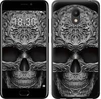 "Чехол на Meizu M6 skull-ornament ""4101u-1349-15886"""