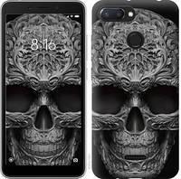 """Чехол на Xiaomi Redmi 6 skull-ornament """"4101u-1521-15886"""""""