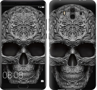 "Чехол на Huawei Mate 10 skull-ornament ""4101u-1116-15886"""