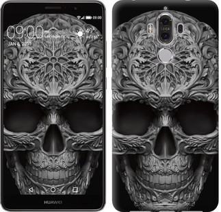 "Чехол на Huawei Mate 9 skull-ornament ""4101u-425-15886"""