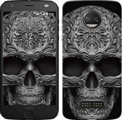 "Чехол на Motorola MOTO Z skull-ornament ""4101c-419-15886"""