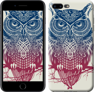 "Чехол на iPhone 8 Plus Сова 2 ""2726c-1032-15886"""