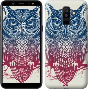 "Чехол на Samsung Galaxy A6 Plus 2018 Сова 2 ""2726c-1495-15886"""