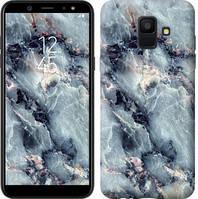 "Чехол на Samsung Galaxy A6 2018 Мрамор ""3479u-1480-15886"""