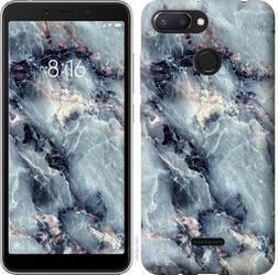"Чехол на Xiaomi Redmi 6 Мрамор ""3479u-1521-15886"""