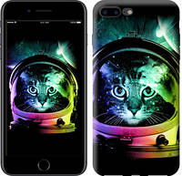 "Чехол на iPhone 7 Plus Кот-астронавт ""4154c-337-15886"""
