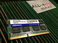 Оперативна пам`ять ADATA DDR3 4GB SO-DIMM PC3 10600S  1333mHz Intel/AMD