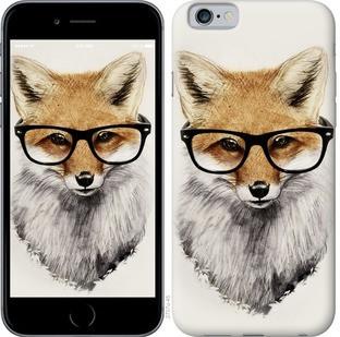 "Чехол на iPhone 6s Лис в очках ""2707c-90-15886"""