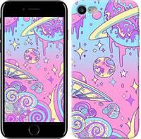 """Чехол на iPhone 7 Розовая галактика """"4146c-336-15886"""""""