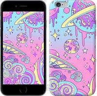 """Чехол на iPhone 6 Plus Розовая галактика """"4146c-48-15886"""""""