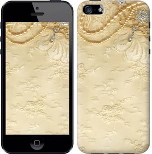 """Чехол на iPhone SE Кружевной орнамент """"2160c-214-15886"""""""