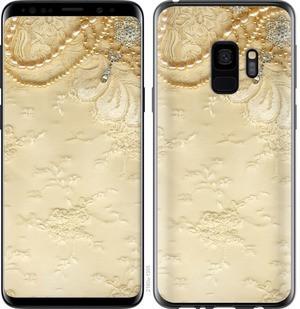 """Чехол на Samsung Galaxy S9 Кружевной орнамент """"2160c-1355-15886"""""""