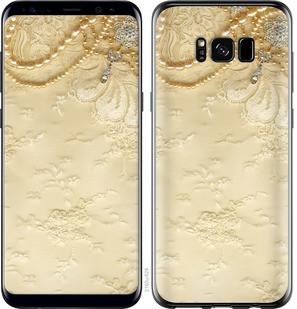 """Чехол на Samsung Galaxy S8 Кружевной орнамент """"2160c-829-15886"""""""