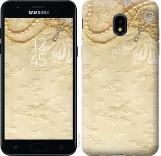 "Чехол на Samsung Galaxy J3 2018 Кружевной орнамент ""2160u-1501-15886"""