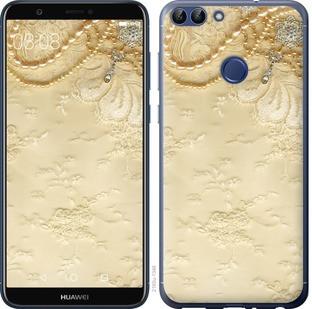 "Чехол на Huawei P Smart Кружевной орнамент ""2160c-1346-15886"""