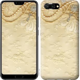 "Чехол на Huawei Honor 10 Кружевной орнамент ""2160u-1496-15886"""