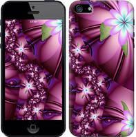 """Чехол на iPhone SE Цветочная мозаика """"1961c-214-15886"""""""