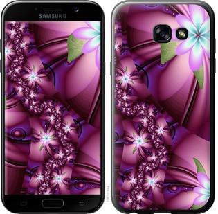 "Чехол на Samsung Galaxy A5 (2017) Цветочная мозаика ""1961c-444-15886"""