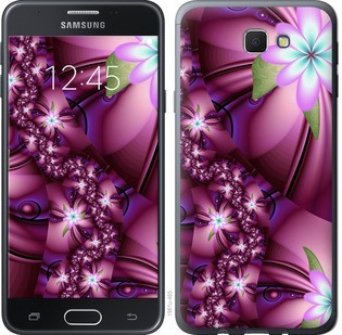 "Чехол на Samsung Galaxy J5 Prime Цветочная мозаика ""1961u-465-15886"""