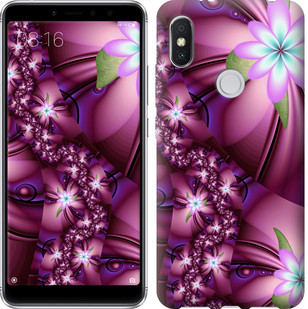 "Чехол на Xiaomi Redmi S2 Цветочная мозаика ""1961u-1494-15886"""