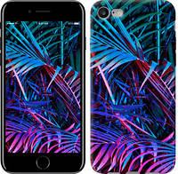 """Чехол на iPhone 7 Папоротник под ультрафиолетом """"4069c-336-15886"""""""