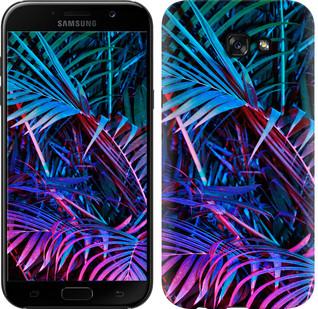 """Чехол на Samsung Galaxy A7 (2017) Папоротник под ультрафиолетом """"4069c-445-15886"""""""