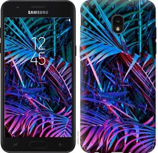 """Чехол на Samsung Galaxy J7 2018 Папоротник под ультрафиолетом """"4069u-1502-15886"""""""