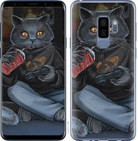"Чехол на Samsung Galaxy S9 Plus gamer cat ""4140c-1365-15886"""