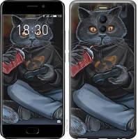 """Чехол на Meizu 15 gamer cat """"4140u-1472-15886"""""""