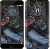 """Чехол на Meizu Pro 6 Plus gamer cat """"4140c-678-15886"""""""