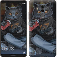 """Чехол на Huawei Mate 10 Pro gamer cat """"4140u-1138-15886"""""""